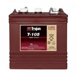 Batería Trojan Roja
