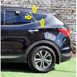Hyundai Santa Fe 2013-2017 Vidrio Lateral