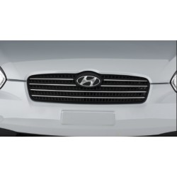 Hyundai Accent 2009-Parrilla Frontal