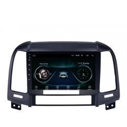 Hyundai Santa Fe 2006-2012-Radio Pantalla Android