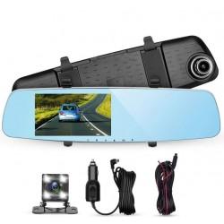 Espejo Con Cámara DVR Para Vehículos
