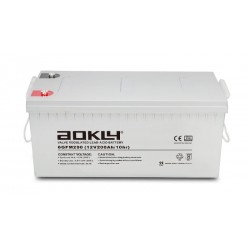 Bateria de Gelatina-Aokly 6GFM200