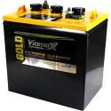 Bateria Viamax Gold para inversores / bateria de 6 voltios ciclo profundo