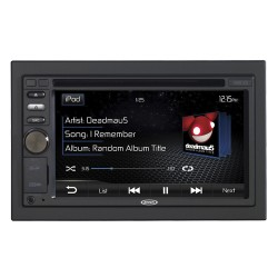Jensen VM9125 Radio multimedia doble din pantalla touch de 6.2""
