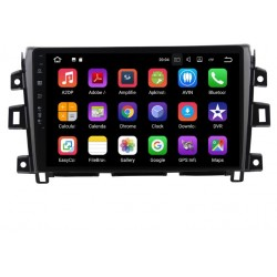 Radio Android 9.0 Nissan Frontier NP300 2016-2021